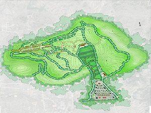 山东莱芜历山陵园设计案例