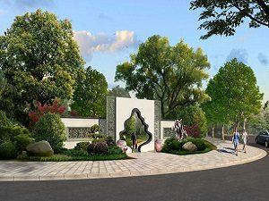 河北保定龙凤陵园设计案例