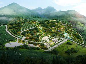 北京密云聚祖陵园案例