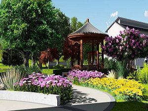 广西武鸣凤凰山陵园设计案例
